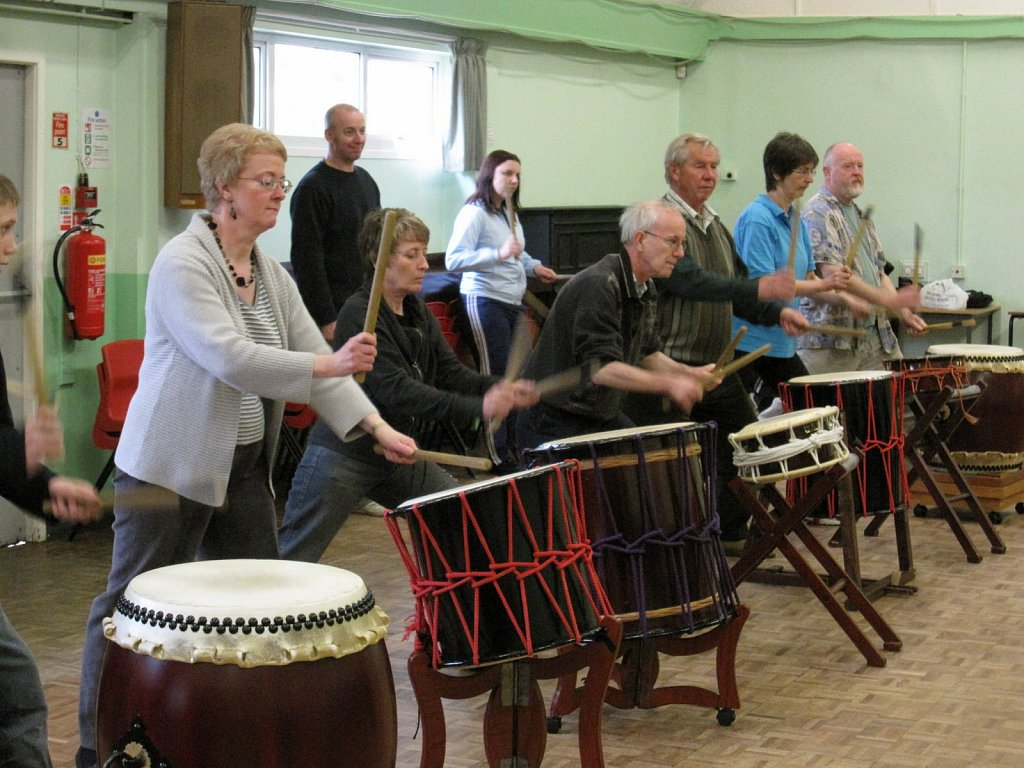 Taiko Drumming Workshop 2009