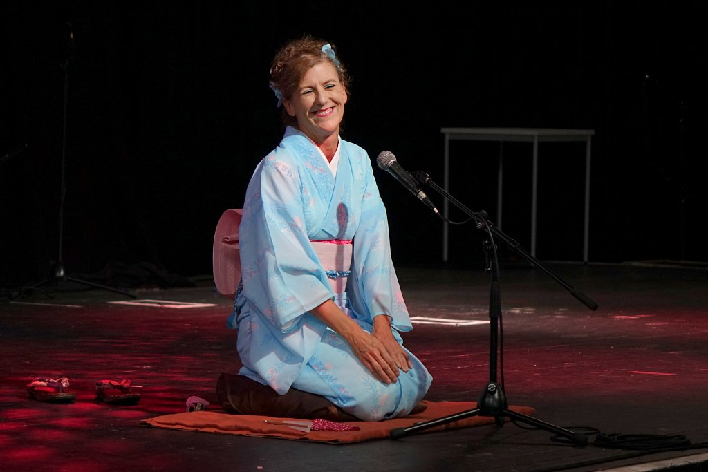 Diane Kichijitsu at Japan Day 2016
