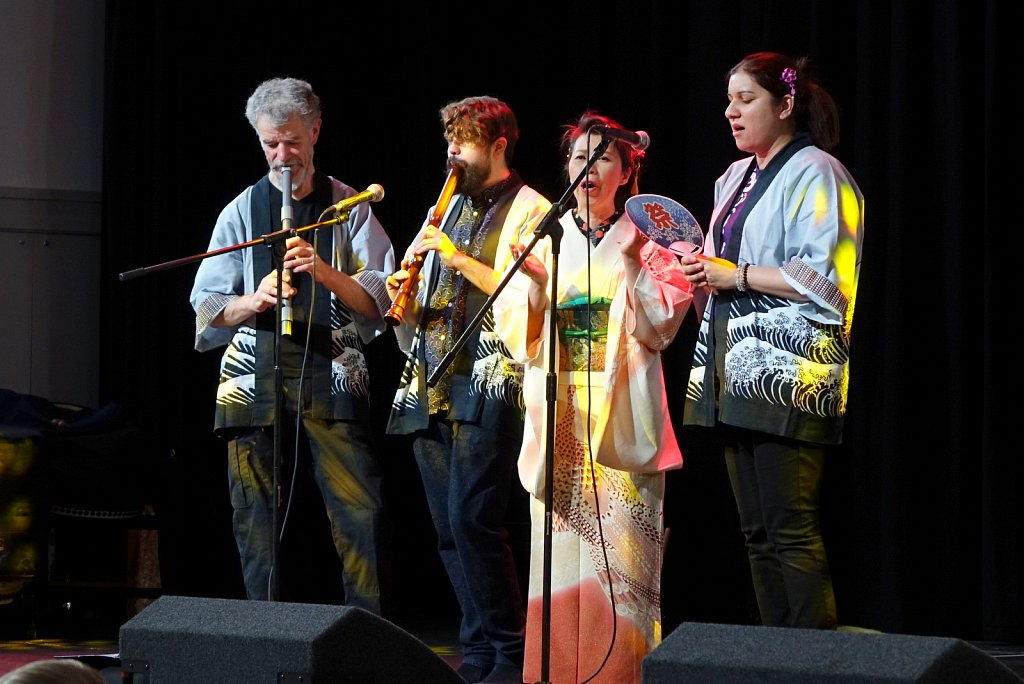 SOAS Min'yo Group at Japan Day 2016